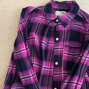 OLD NAVY girls flannel.